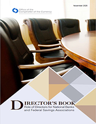 Director's Book: Role of Directors for National Banks and Federal Savings Associations Cover Image