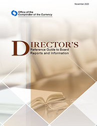 Director's Reference Guide to Board Reports and Information Cover Image