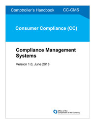 Comptroller's Handbook: Compliance Management Systems Cover Image