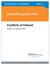 Comptroller's Handbook: Conflicts of Interest Cover Image