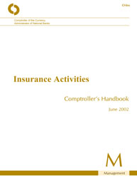 Comptroller's Handbook: Insurance Activities Cover Image