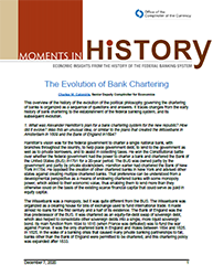 Moments in History Cover Image: The Evolution of Bank Chartering